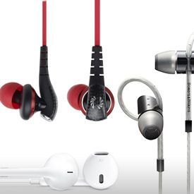The Best Earbuds (In-Ear Headphones or Earphones)