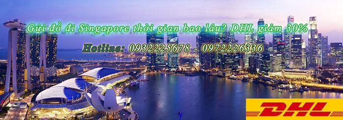 Vận chuyển hàng đi Singapore giá bao nhiêu | DHL giảm 30%