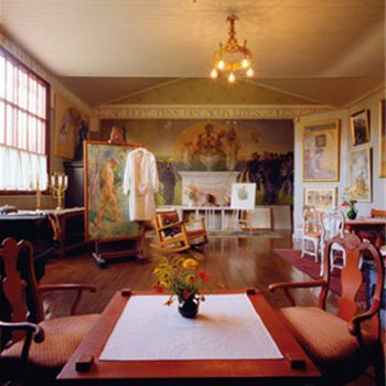 Artist Carl Larsson's home in Sweden