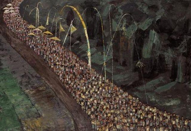 H Widayat - Ceremonial procession