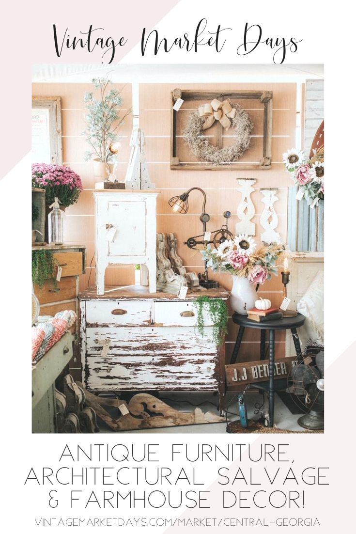 One Of Country Living Magazine S Top 7 Flea Markets Not To Miss In America Vintage Market Days Is Vintage Market Days Vintage Market Country Living Magazine