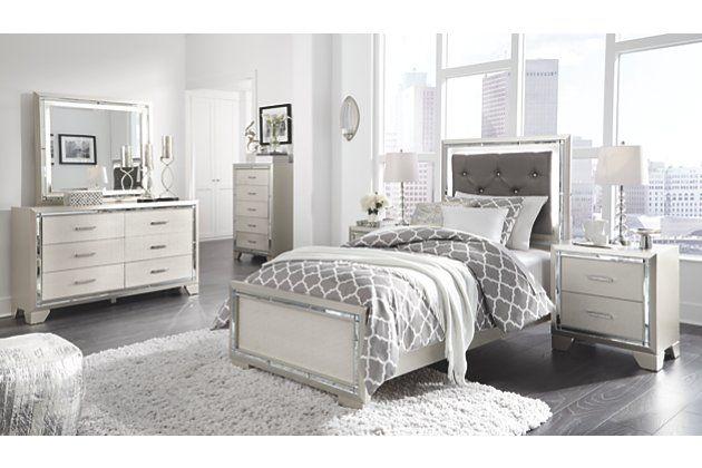 Lonnix Queen Panel Bed In 2020 Mattress Furniture Bedroom Panel