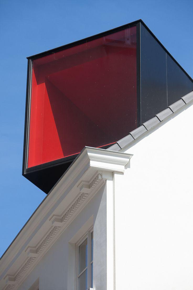 room on the roof: collective housing in brioolstraat by CAAN architecten
