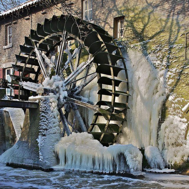 water mill in Stadbroek, Sittard, Zuid (South)Limburg. Netherlands.