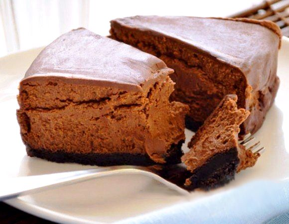 Cold Chocolate cheesecake