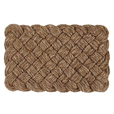 Buy John Lewis Croft Collection Lovers Knot Doormat Online at johnlewis.com