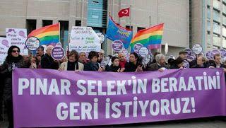 LGBTİ Örgütlerinden Pınar Selek'e Destek. - LGBT Gay Haber Eşcinsel Haber