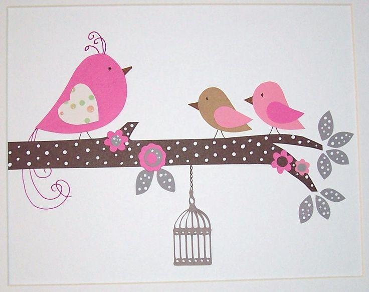 Baby Girl Art Decor Nursery Art Children's Room Decor by vtdesigns. $14.00 USD, via Etsy.