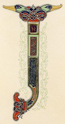 lettrines celtes 'J'