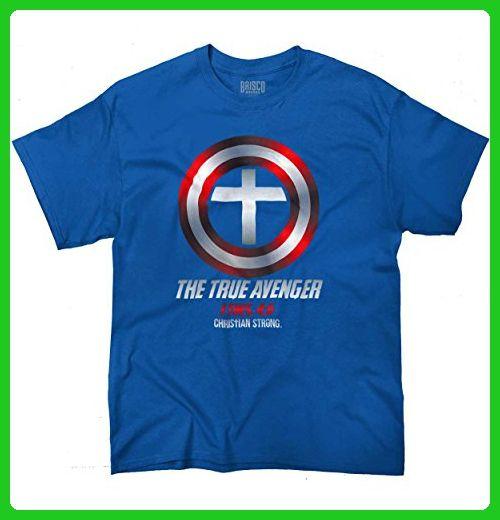c71ebb51 True Avenger Marvel Avengers Jesus Christ Religious Christian T-Shirt Tee - Superheroes  shirts (*Amazon Partner-Link)   Superheroes Shirts   Christian ...