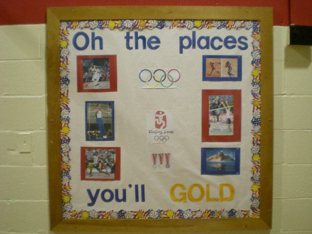 Classroom Decorating Ideas Olympic Theme : Best images about teacher appreciation olympics on
