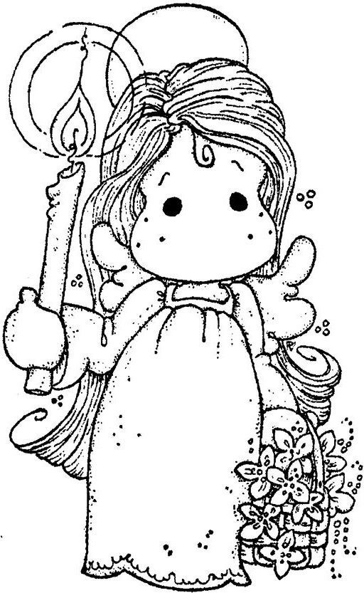 magnolia stamps coloring pages - photo#37