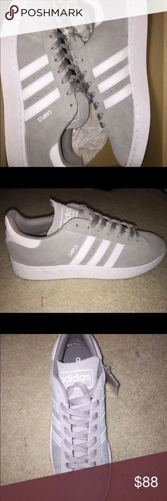 Adidas Campus 2 Sneakers Adidas Campus 2 sneakers in grey. Men's size 9. Never worn. Adidas Shoes Sneakers