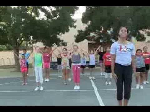 Pee Wee and Midget Cheers 2013 Large - YouTube