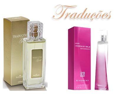 TRADUÇÕES GOLD 22 | *VERY IRRESISTIBLE – 100ml  Tipo Floral Aromático com aroma moderado.