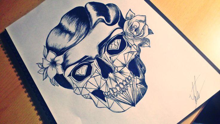 #marilynmonroe #skull #diamond