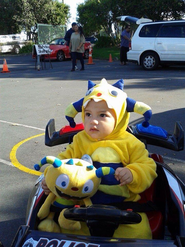 Henry Hugglemonster Halloween Costume