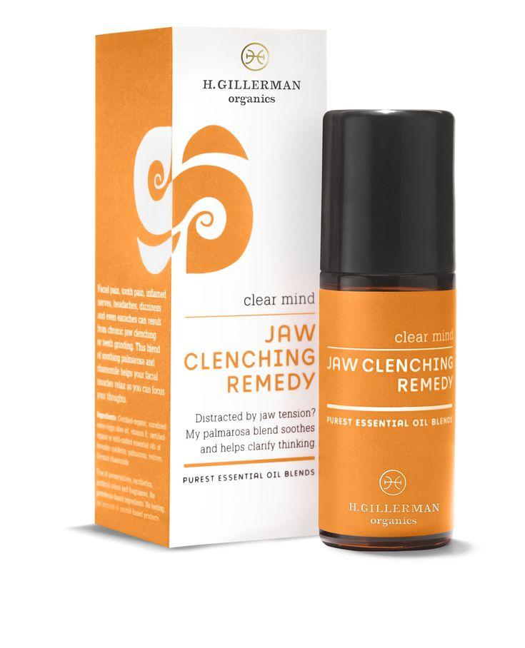 JAW CLENCHING REMEDY | H. Gillerman Organics