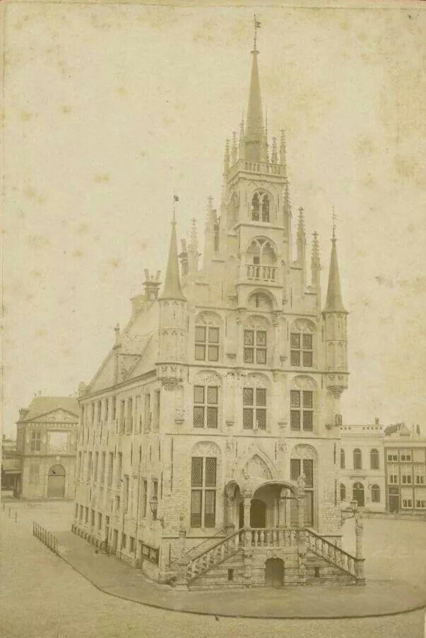 Stadhuis Gouda 1875