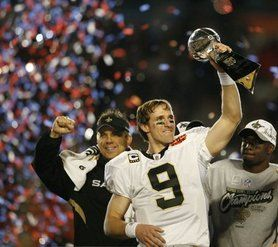 New Orleans Saints. Super Bowl Champs 2009