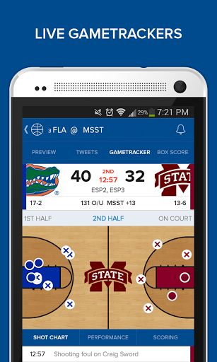 CBS Sports -- Your one-stop sports app -- now available for Android Phones AND Tablets!<br>Get lightning fast scores, stats, news and tweets for all major sports. Don't miss any of the action with our one-screen design that showcases the most games at one