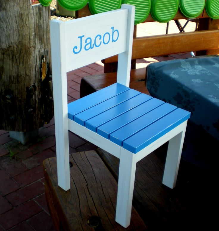 Smaller Size Kids Chair | Do It Yourself Home Projects from Ana White
