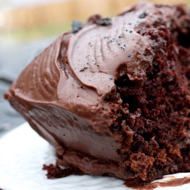 hershey's perfectly chocolate cake (or you can opt to make them in cupcake form!)    This is seriously the BEST chocolate cake.