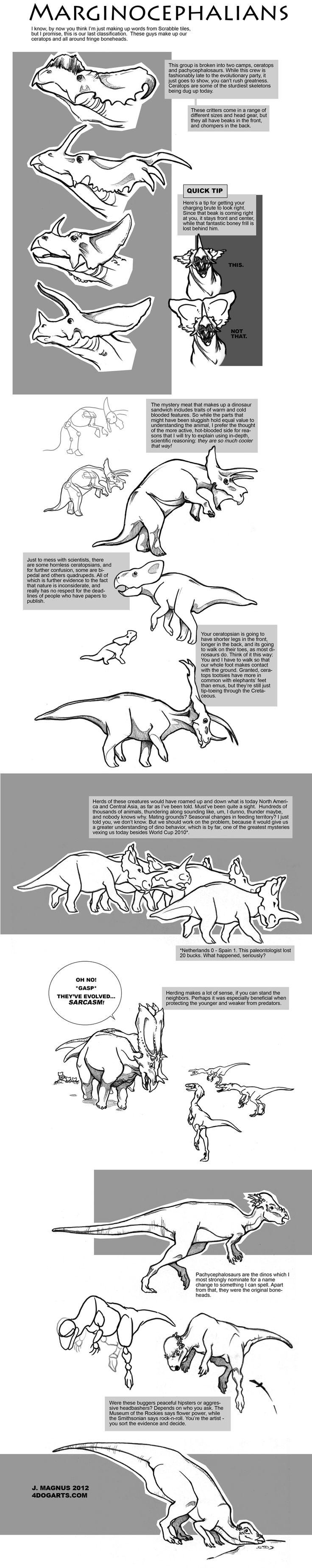 Uncategorized Dinosaur Drawing Tutorial 75 best dinosaurs images on pinterest dog art and how marginocephalia tutorial by sketcherjak deviantart