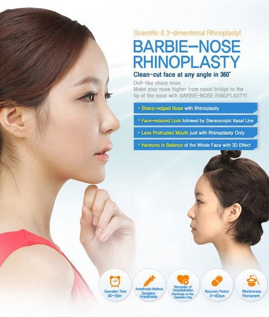 The circumstances for having rhinoplasty can be many such as nose reshaping, bulbous nose surgery, hook type nose surgery, defect correction, nose line correction, tip correction, dent on bridge removal, breathing problem through nose, Barbie shape nose surgery etc. it is actually one of the most common type of plastic surgery. Looking into the picture of rhinoplasty before and after can give you more confidence and strength you need, while taking the decision of having this procedure.
