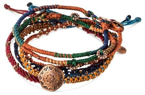 """The perfect bracelets for a bohemian look.  