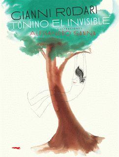 """Gianni Rodari. Tonino El Invisible. Tonino el invisible és un clàssic de Gianni Rodari que es va publicar originalment l'any 1980 dins els seus """"Contes per telèfon"""". El passat 2010 es commemorà el 80è aniversari del seu naixement i per això, Libros del Zorro Rojo va decidir recuperar un dels seus contes més significatius. Tonino és un noi que vol ser invisible, però una vegada que ho aconsegueix, se sent sol i de nou voldrà ser visible."""