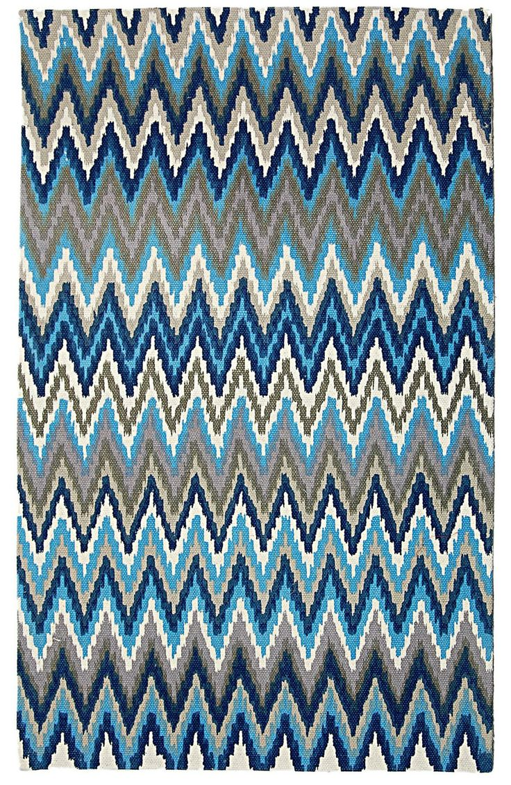 Cedar Brook Teal/ Blue cotton flat weave available in standard sizes and runners