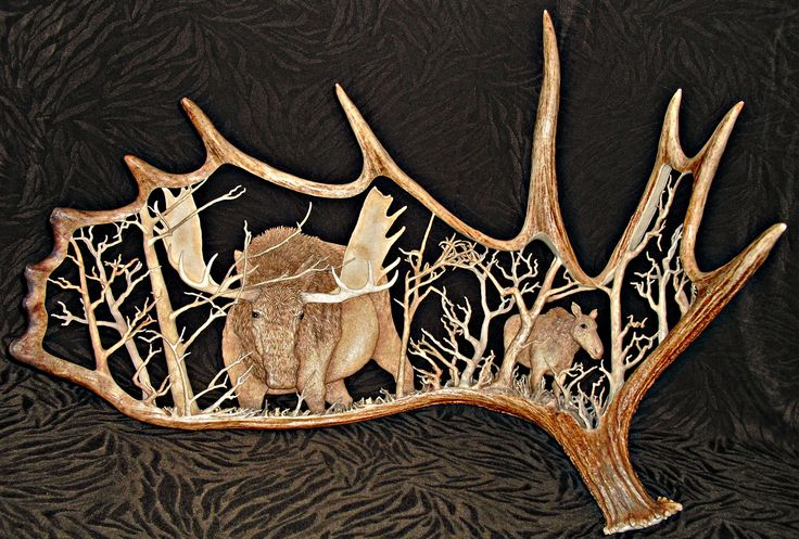 Best images about carving antler on pinterest