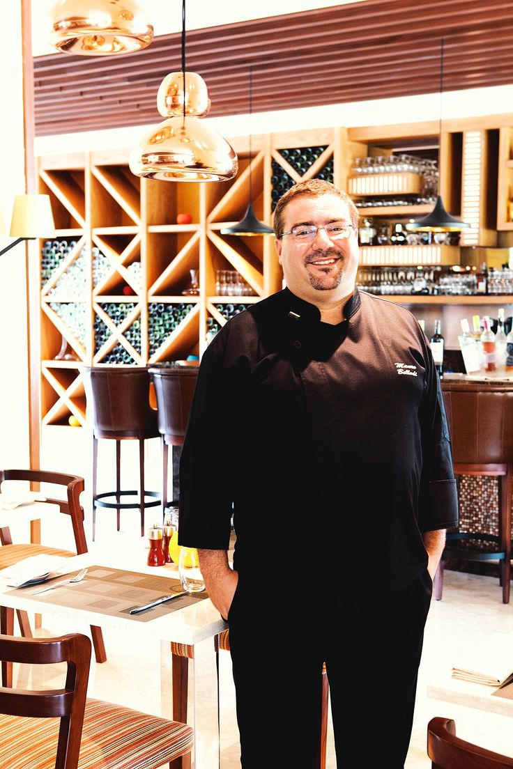 """Mauro Bellodi, Executive Chef Westin. Born into a family of professional cooks, Chef Mauro Bellodi can't remember a time when he wasn't in the kitchen. """"I was born in Arona, northern Italy and being a chef has always been what I wanted to do in life.""""  The Westin Resort Nusa Dua 