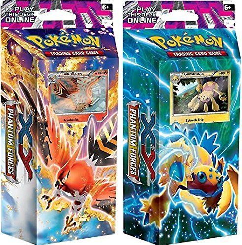 Pok mon Sealed Decks and Kits 183467: Pokémon Tcg Pokemon X And Y Phantom Forces Burning Winds And Bolt Twister Theme Deck -> BUY IT NOW ONLY: $34.98 on eBay!