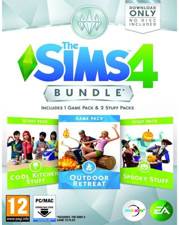Get The Sims 4 DLC Bundle Pack 2 30% Off for only $26.95 during our current sale! Ends tomorrow at 11:59PM EST.