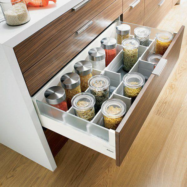 gewürze sauber im schrank aufbewahren kitchen Pinterest - ordnung im küchenschrank