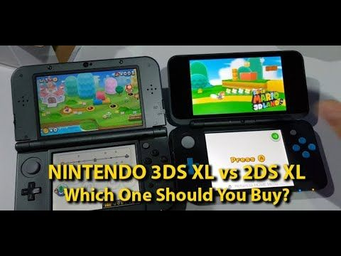 NINTENDO 3DS XL vs 2DS XL - Which One Should You Buy? - Andrasi.ro