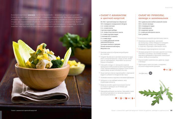 Салат из рукколы, авокадо и шампиньонов