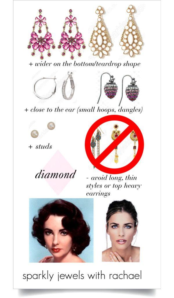earrings for diamond face shape