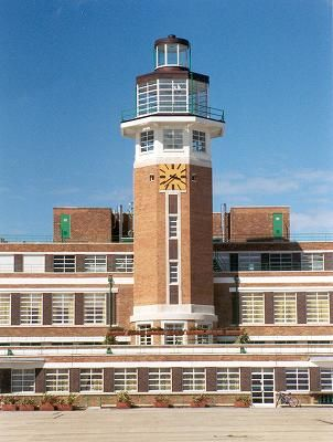Liverpool Speke Airport (now a hotel) - superb, British 1930's architecture