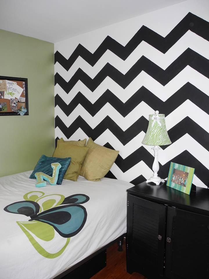 best 25 chevron girls bedrooms ideas on pinterest chevron wall decor chevron girls rooms and. Black Bedroom Furniture Sets. Home Design Ideas