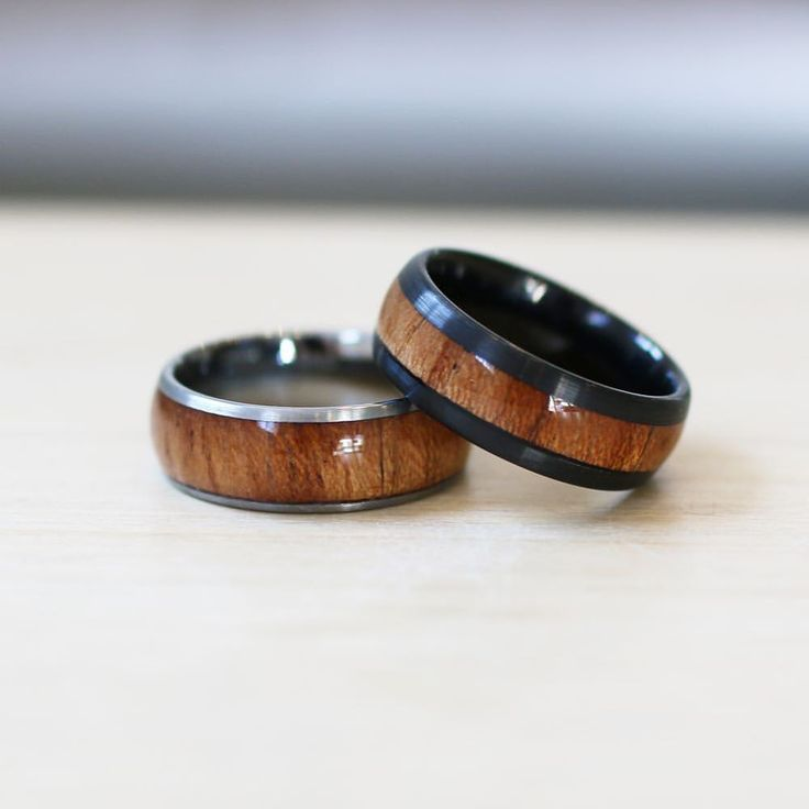 """25 Likes, 2 Comments - Beaudell (@beaudell_him) on Instagram: """"Timber collection ✨ Included in our Gents range are these trendy and timeless wooden rings."""""""