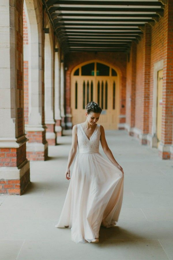 brideen + deci | Tamsin Gown by Catherine Deane for @BHLDN | #BHLDNbride