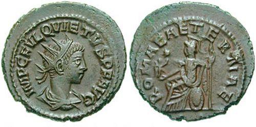 Макриан Младший (Тит Фульвий Юний Макриан), римский император-узурпатор в 260-261 годах. Макриан Младший был сыном полководца Макриана Старшего и братом Квиета. При Валериане служил трибуном.