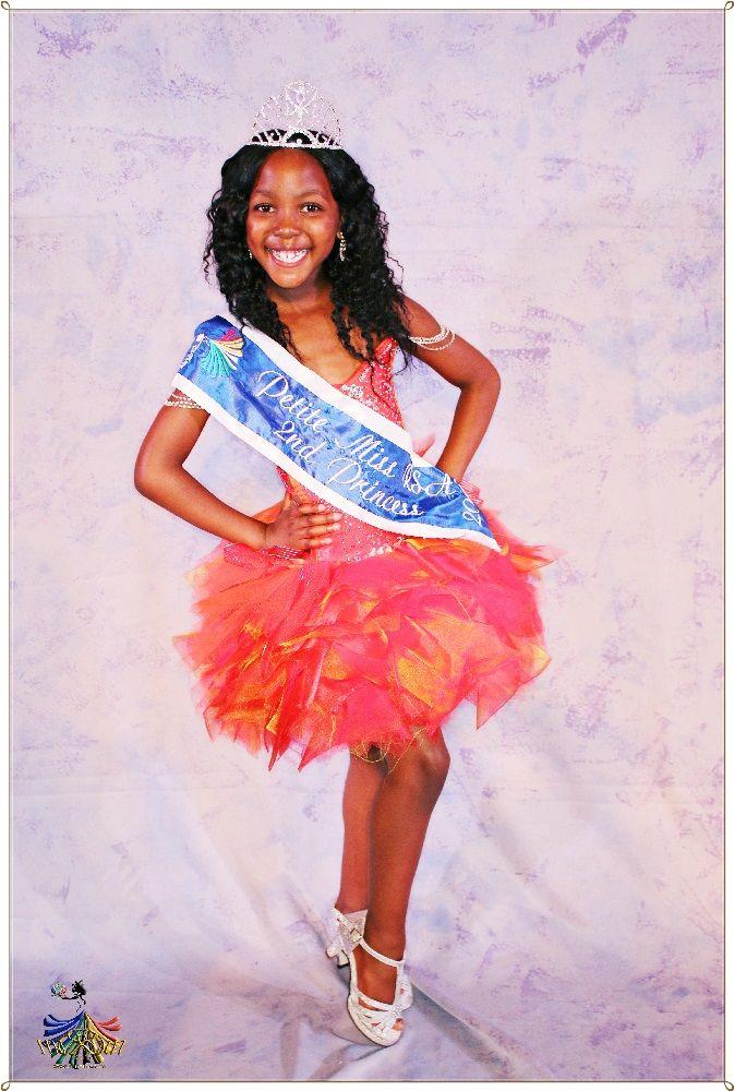 Petite Miss RSA 2015 - 2nd Princess Mbali Msimang
