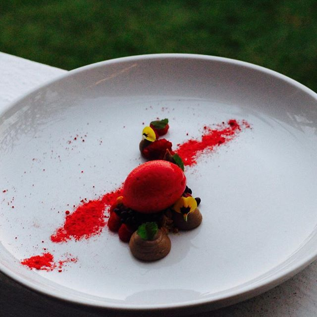 An Absolutely Stunning Dessert By @chef_gabrielle_streader