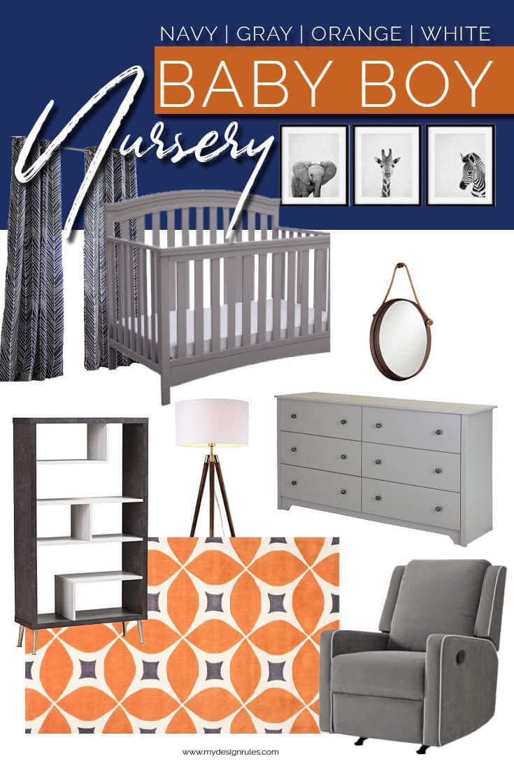How To Set Up And Decorate A Baby Nursery In 6 Weeks Baby Boy