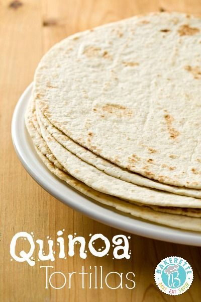 Quinoa Tortillas! These are gluten free, lactose free, flexible and filling!