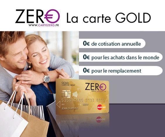 La carte ZERO Gold MasterCard® est une carte haut-de-gamme à 0€ si elle est utilisée pour faire ses achats comme une simple carte de débit prépayée. Bien lire les conditions d'utilisation afin de l'utiliser de manière avantageuse.
